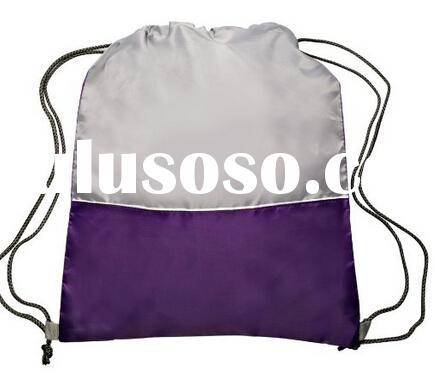 2015 Wholesale Drawstring Book Bags For High School Girls