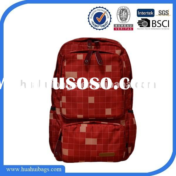 Cute Red Book Bags for High School Girls
