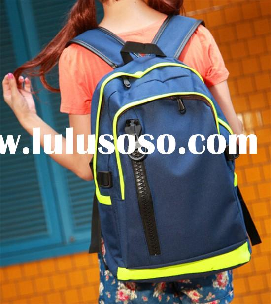 Fashion laptop rucksack school backpacks book bag for high school girl