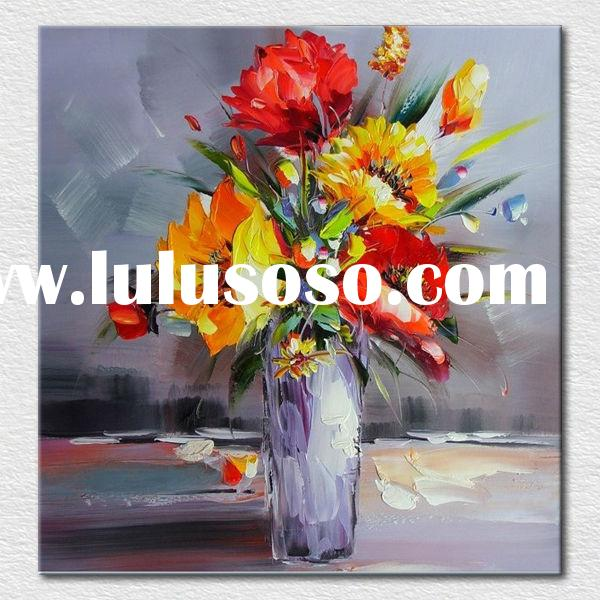 High quality handmade canvas art oil painting best design oil painting for sale