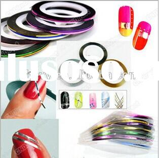 Hot Sale Rolls Striping tape line decoration sticker for nail art