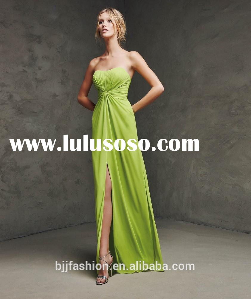 Long Summer Dress for a wedding ,special party center opening