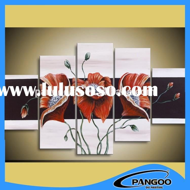 Modern Handmade decorative Group Oil Painting For Sale