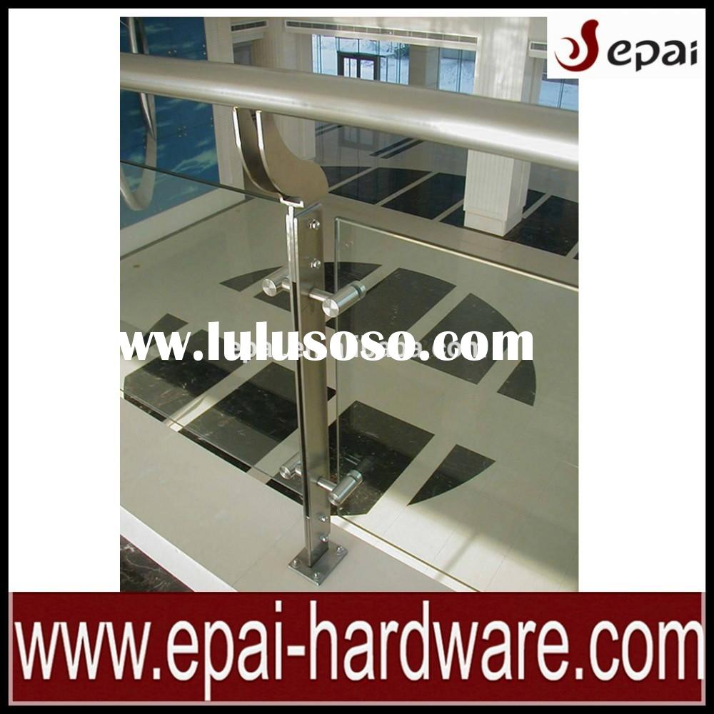 Modern Stainless Steel Glass Railing