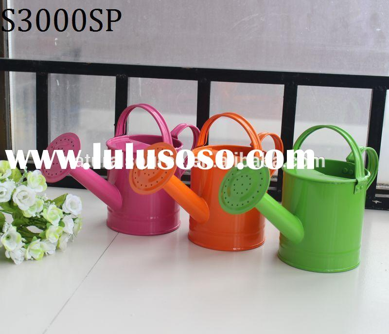 Small cheap colorful metal kids watering cans for sale