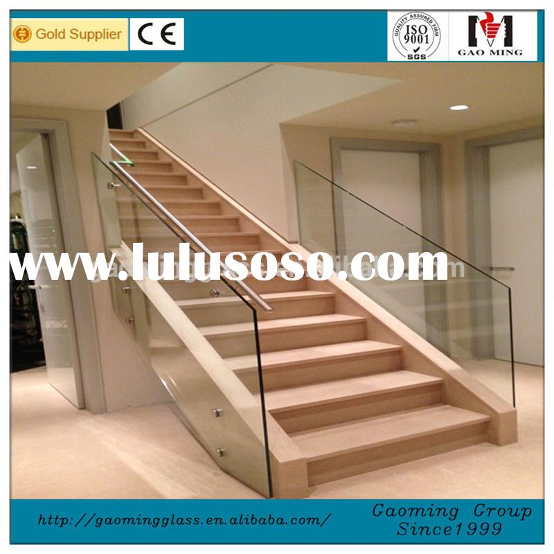 Stair Glass Handrail Handrails for Stairs Exterior Stair Handrail for Sale 228