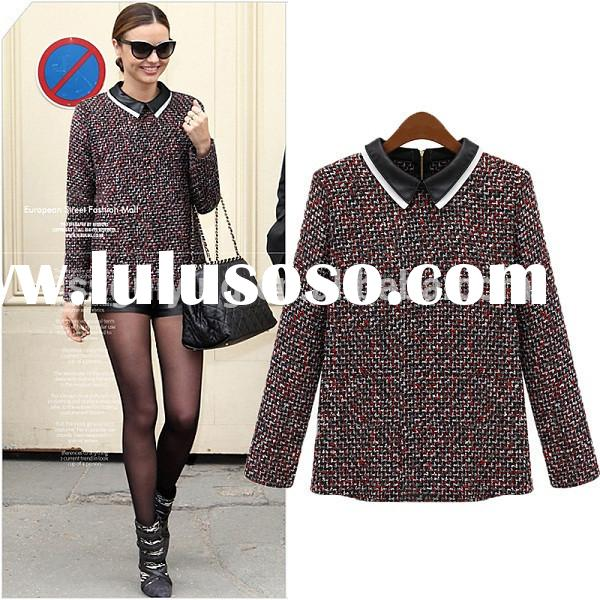 Wholesale Ladies Shirts And Tops Fashion Women Winter Clothes Shirts And Blouses