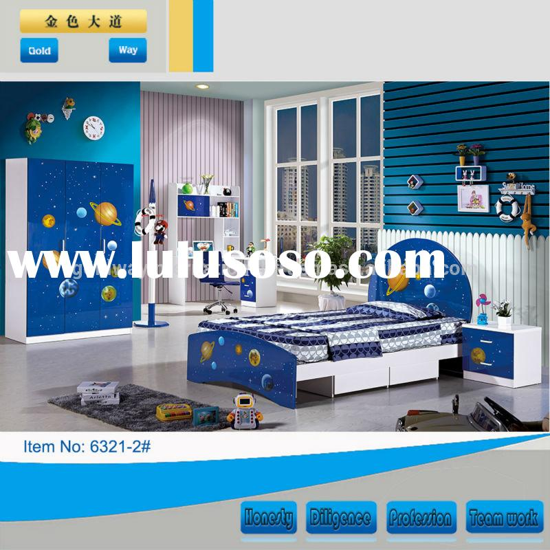 bedroom furniture kids bedroom furniture for boy 6321-2#