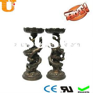 candles holder and oil lamps