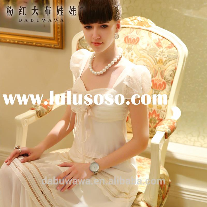 dabuwawa long dresses for ladies long summer dresses for women simple long sleeve wedding dress