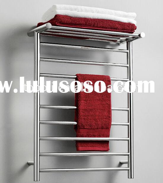 electric heated towel drying rack,bathroom wall towel racks,stainless steel towel drying stand