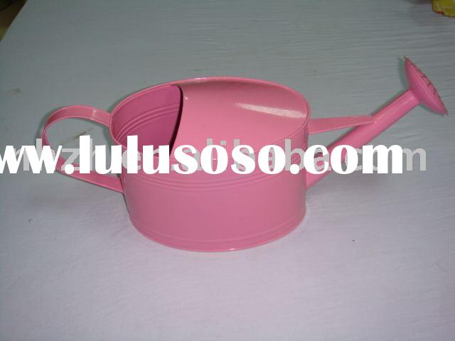 garden tool metal pink oval cheap Watering cans