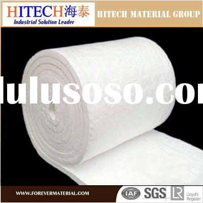 high alumina heat resistence ceramic fiber blanket for pipe