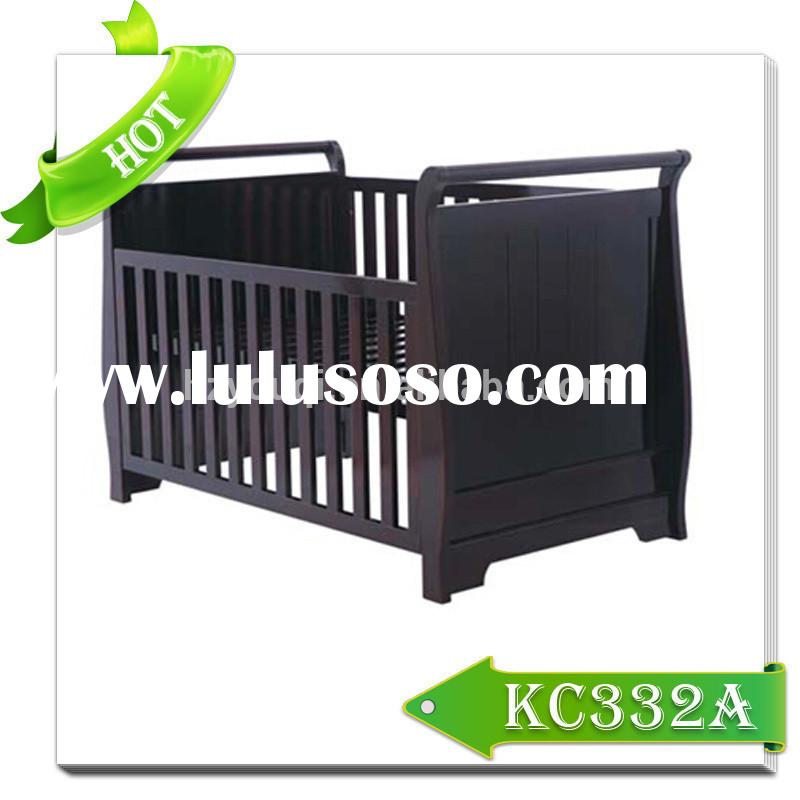 high quality solid wood cot bed baby crib for sales top sales