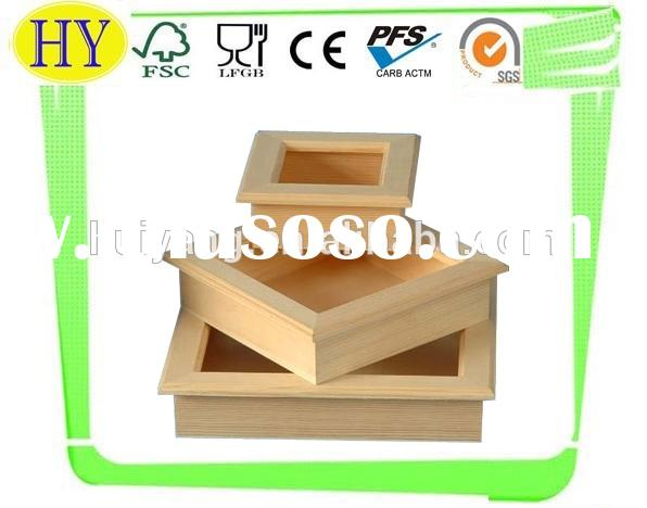 2015 china supplier wooden shadow box wholesale