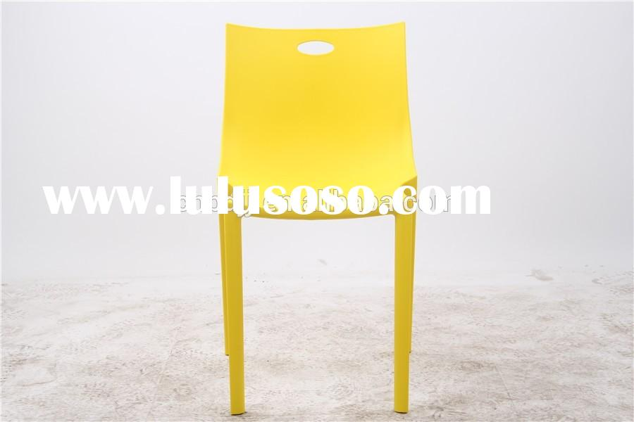 2015 hot sale chair covers for plastic chair plastic chair factory for dining room furniture