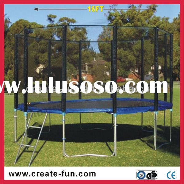 Gsd 13ft Trampoline With Safety Net And Ladder Gsd 13ft