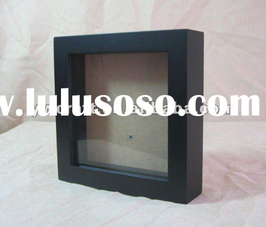 Black Wooden Shadow Box Hot Sale
