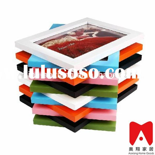 Colourful Plastic Picture Frame 4x6 5x7 6x8 8x10 3x3 shadow box