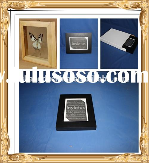 Custom wooden Photo Frame Shadow boxes wholesale