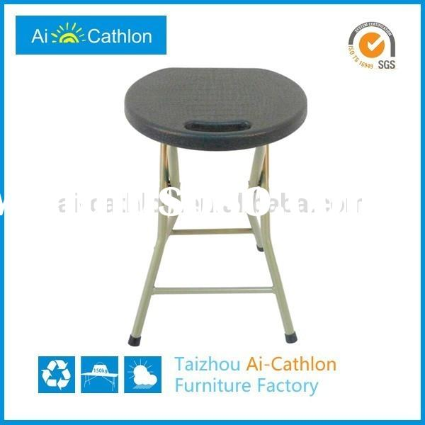 Factory price folding bar stools,outdoor plastic bar stools