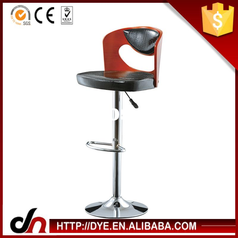PU plywood frame gas lift bar stools/chair,abs bar stools,plastic led outdoor bar stools
