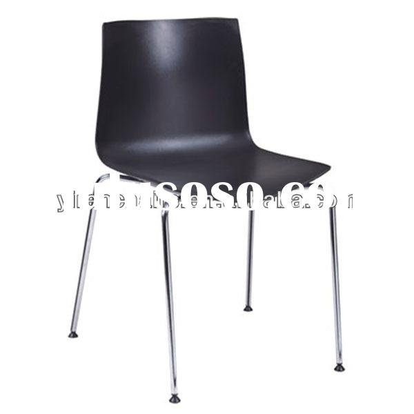 black dining chair reception room chairs/chair covers for plastic chairs/plastic chair price