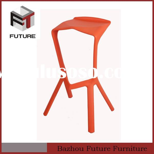 garden furniture plastic designer bar stools high chair for outdoor