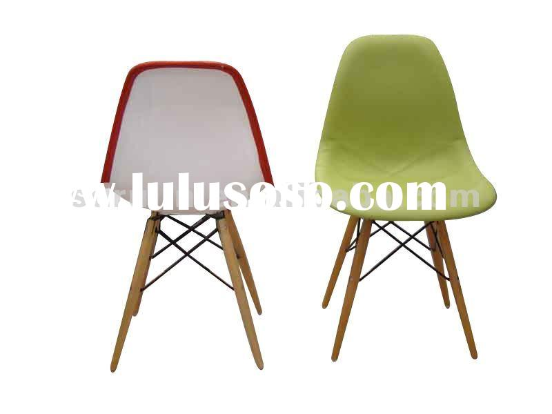 modern ABS plastic PU Dining Chair/living room chair