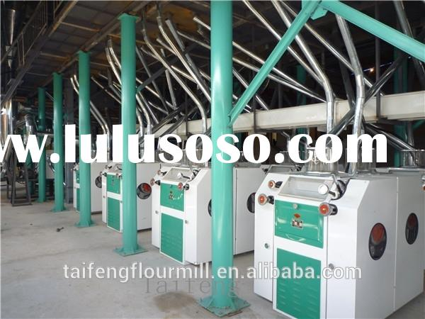 150T/D Electric corn grinder or maize milling machines for Africa markets