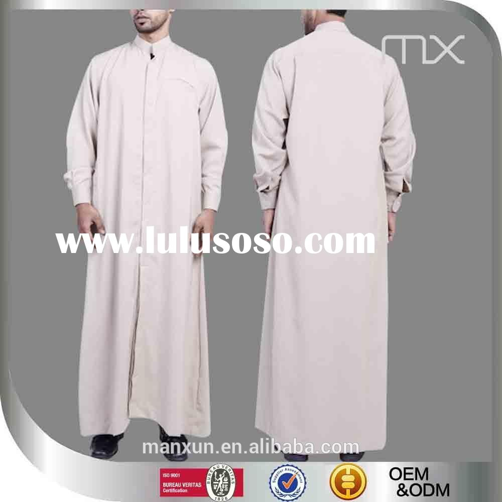 2015 indonesia latest jubah trendy abaya for men wholesale jubah for muslim men kurta designs for me
