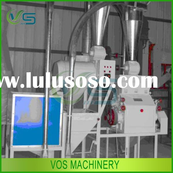 500kg/h yield high efficiency corn mill machine, maize flour mill machine, corn flour grinder machin