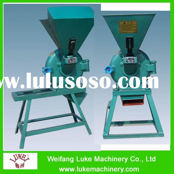 500kg output Diesel Small Corn Mill Grinder for sale
