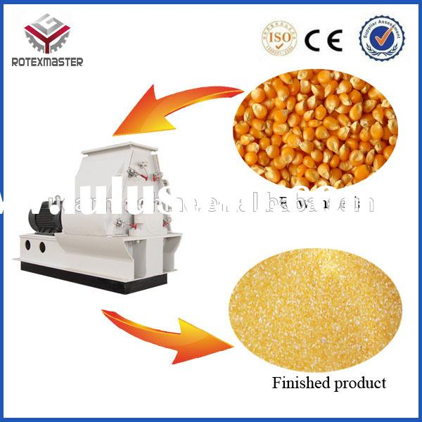 Animal Feed Pellet Hammer Mill Small Corn Mill Grinder For Sale