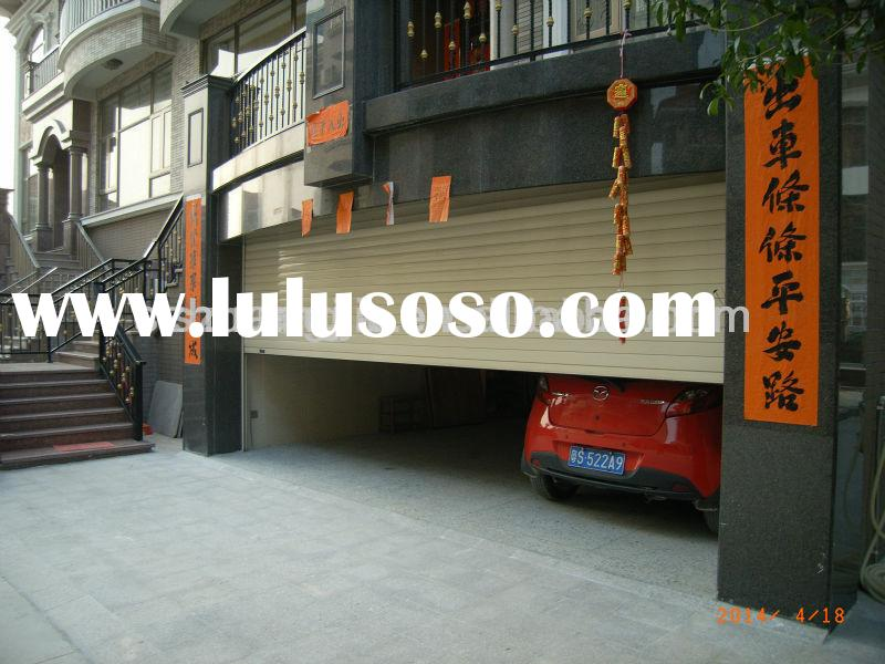 Automatic Exterior and Interior Aluminium Garage Rolling Shutter Door
