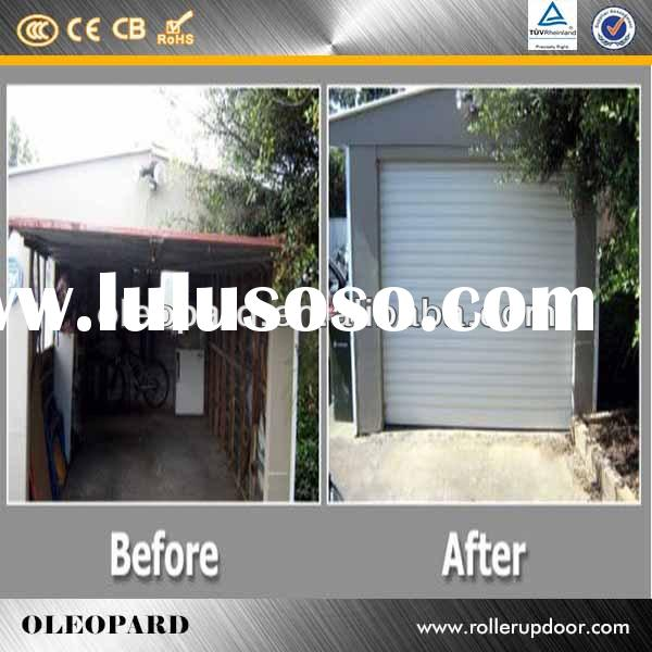 Best sale shutter door / Interior Insulated Roll Up Door