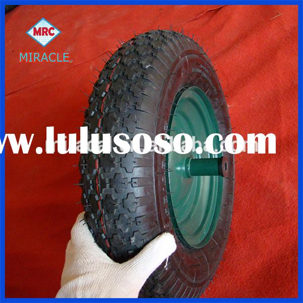 "China Supplier 16"" 4.00-8 400-8 Air Happy Tyre Wheels Full Version"