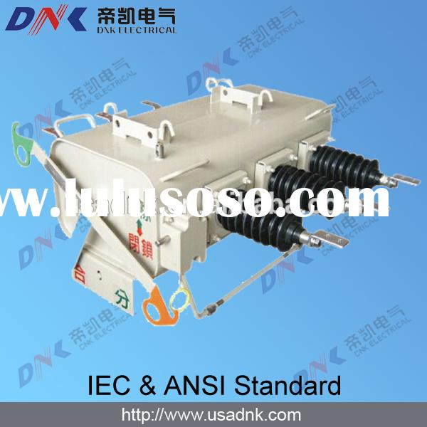 DNK outdoor use load break switch sf6 36kv equipped with controller