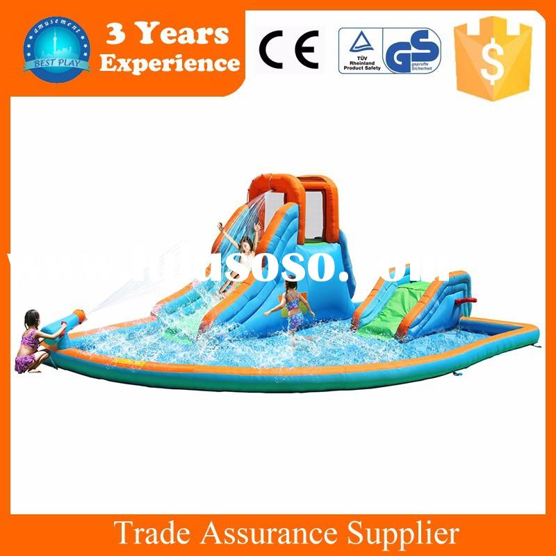 Factory price cheap inflatable bounce water slides for sale