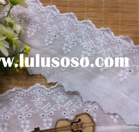 Gets.com cotton white lace bridal jacket wedding shawls and wraps