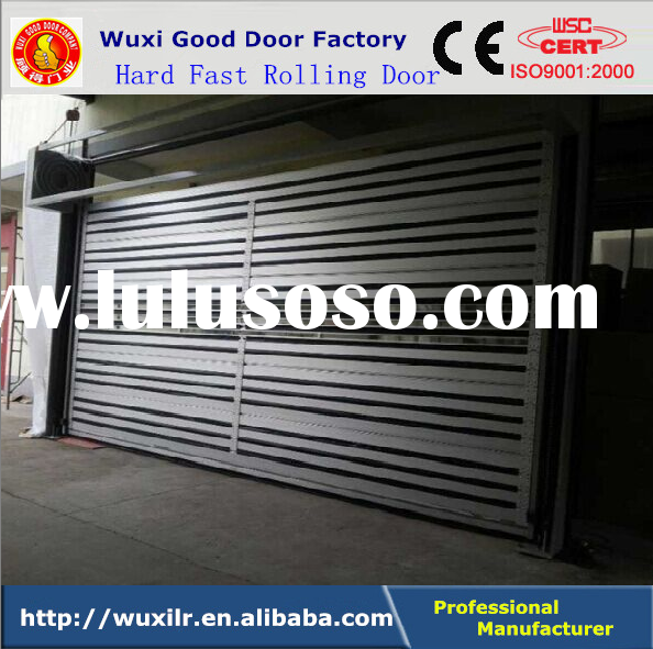 Hard Material High Speed Aluminum Shutter Rolling Door/Fast Interior/Exterior Doors