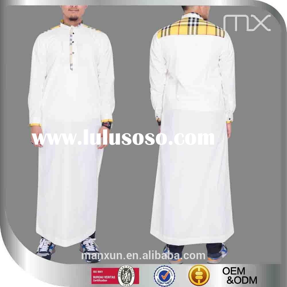 Low MOQ moroccan thobe designer mens jubba and thobe for muslims brothers men abaya in dubai jubba f