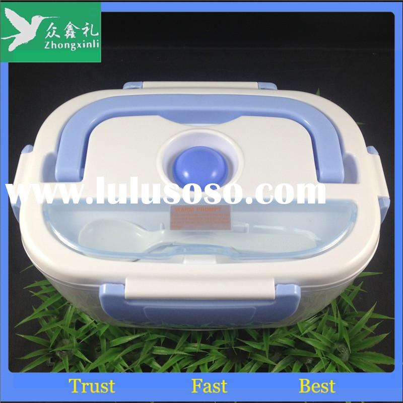 NICE design Multifunctional Electric Heating Lunch Box portable plastic food warmer container conven