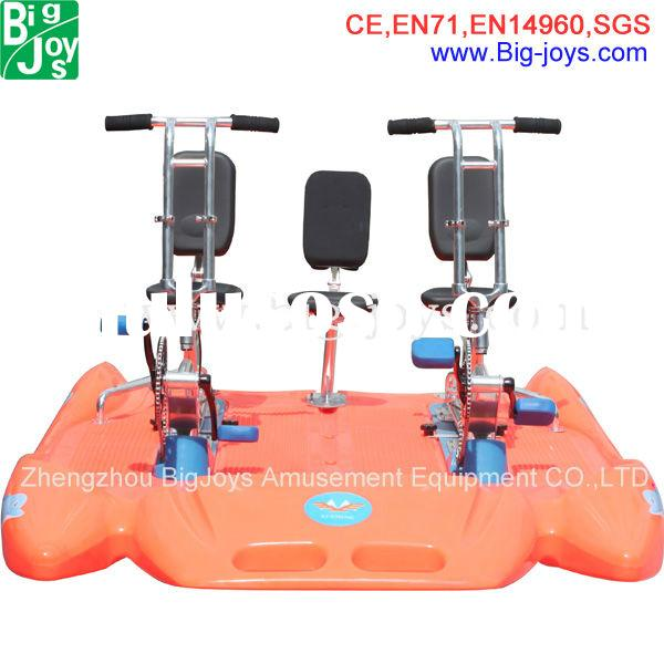 New arrival double water pedal bike ,water bike prices