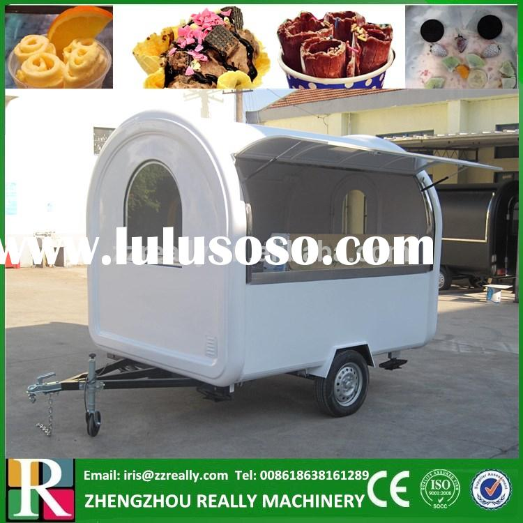 Newest Hot Sale Mobile Fried Chicken Fryer Cart & Chips Snack Cart/food vending carts for sale
