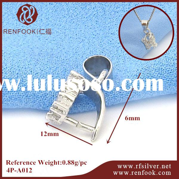 RenFook factory direct sale 925 sterling silver DIY jewelry new type pendant clasp