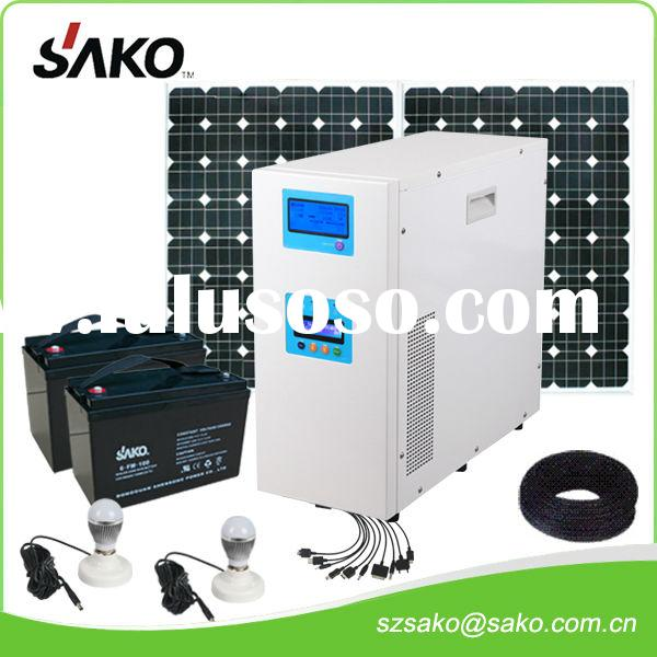SAKO pure sine wave solar home system JSKN 500VA To 10KVA with controller
