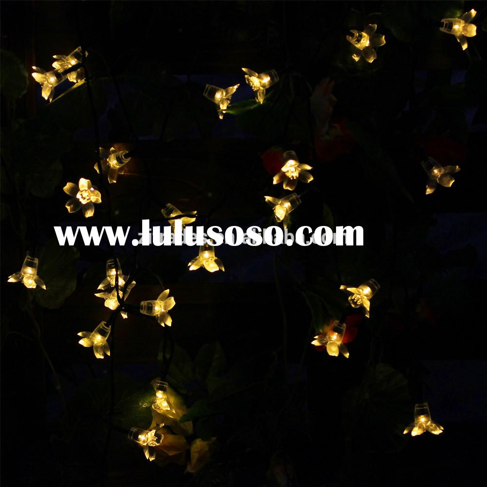 Solar Fairy String Lights 50 LED Warm White Blossom Decorative Gardens, Lawn, Patio, Christmas Trees