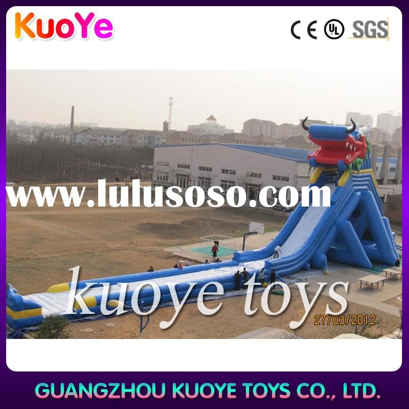 bounce round inflatable water slide,water inflatable water slides for pond,inflatables water slides