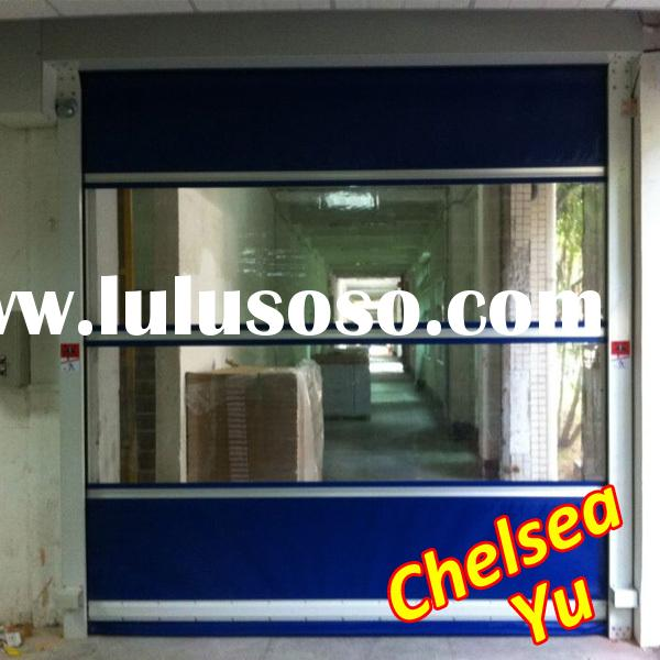 high speed interior plastic rolling door,plastic rolling shutter door